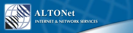 ALTONet is one of South Africa's largest and most advanced ISPs, providing ultra reliable and fast web hosting and dial-up packages at highly competitive prices.