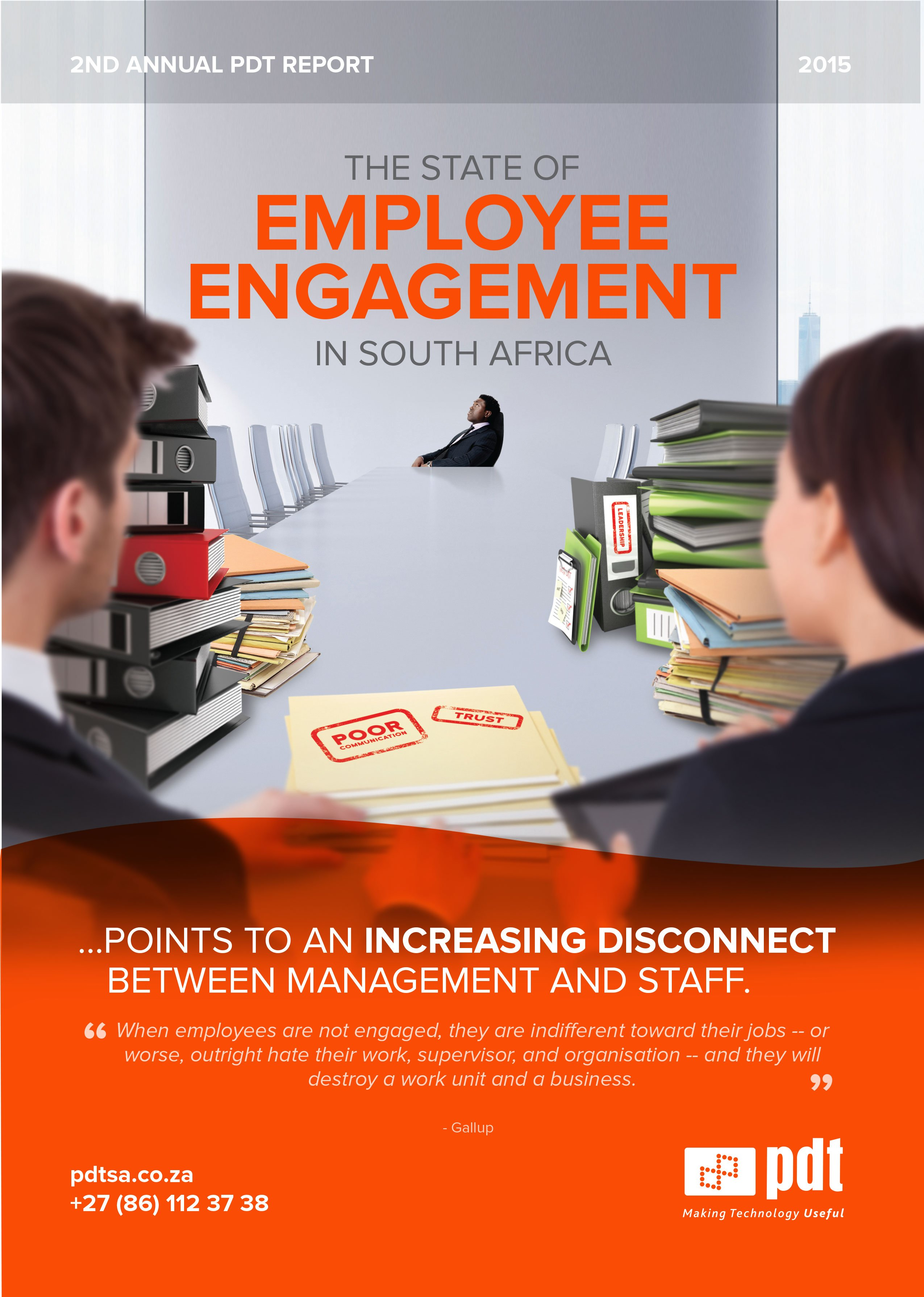 PDT's 2015 State of Employee Engagement in South Africa survey report