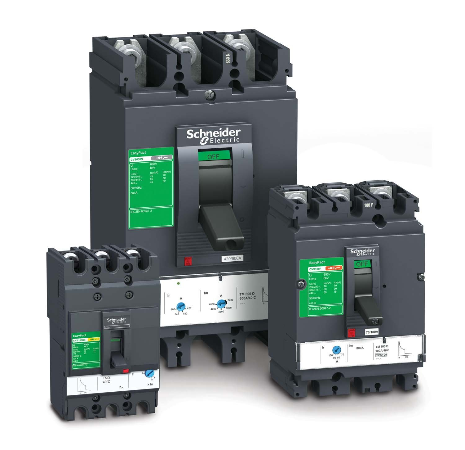 Schneider Electric Launches Easypact Cvs Range Of Circuit Breakers In South Africa on current limiting circuit breaker