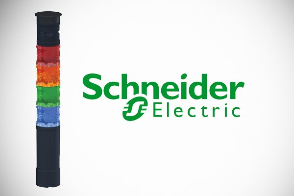 Schneider Electric's industrial grade tower lights, Harmony XVU